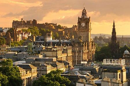 Чем заняться в Эдинбурге