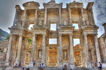 Эфес, Турция: руины города
