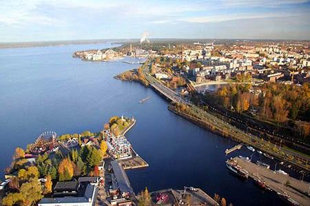 Финляндия, Тампере: парки и другие интересные места