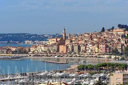 Франция: Ментона, Оре, Этрета, Морзин
