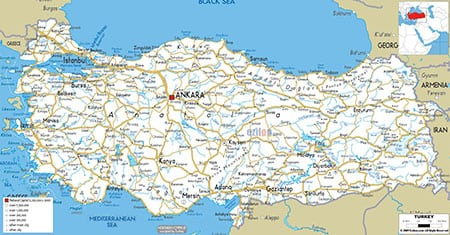 Города и климат Турции