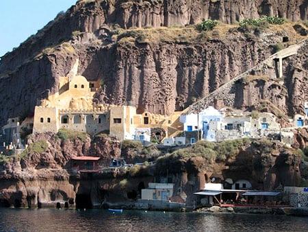 Греция: Фира, столица острова Санторини