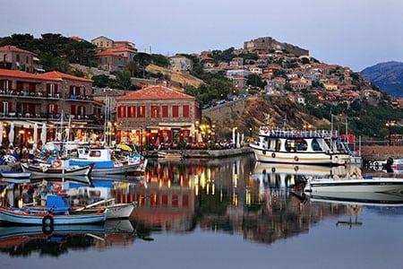Греция, Лесбос: кухня, традиции и интересные места