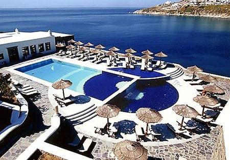 Греция, Миконос: пляжи острова