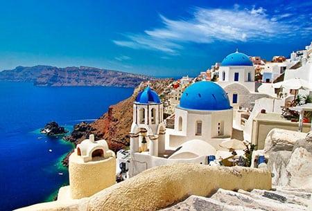 Греция: общая информация, климат, языки
