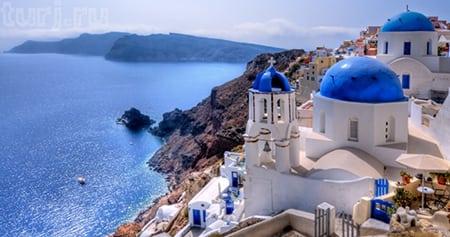 Греция: Остров Санторини