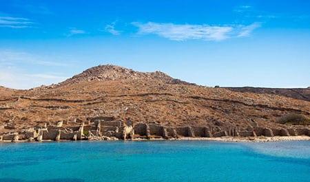 Греция: острова Делос, Патмос и другие