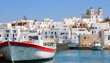 Греция, Парос: достопримечательности и местная кухня