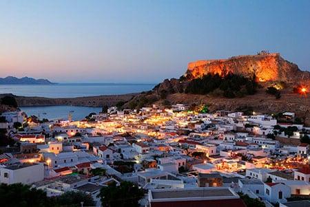 Греция, Родос: транспорт