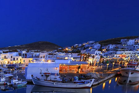 Греция, Сифнос: как добраться и где остановиться