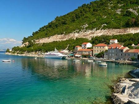 Хорватия - остров Млет