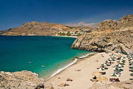 Лучшие и красивые пляжи Греции