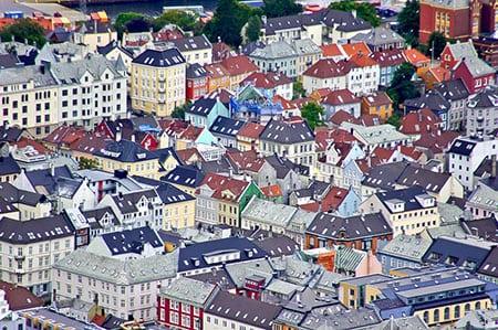 Норвегия, Берген: туристам на заметку