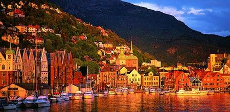 Норвегия: Берген