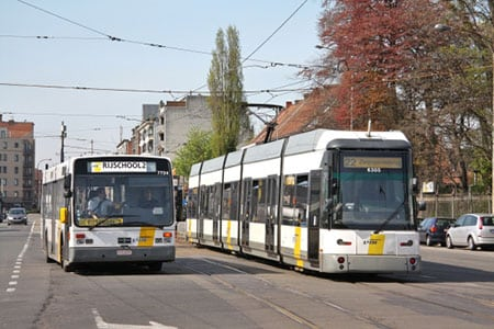 Поездка в Гент. Городской транспорт