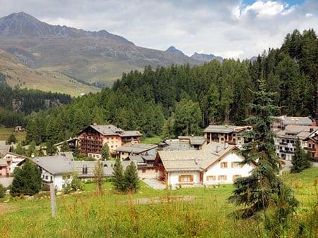 Швейцария: спортивная деревня Сильваплана