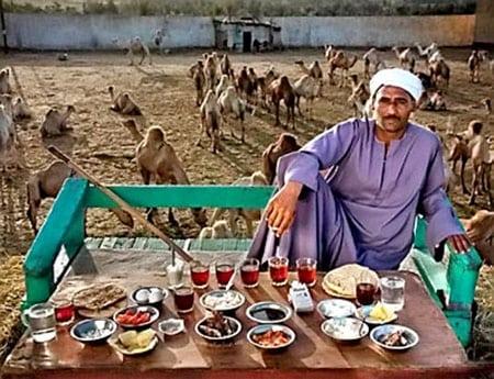 Местная кухня в Египте