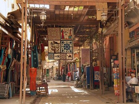 Рынки города Луксор