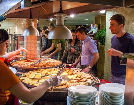 Бизнес проект сети ресторанов быстрого питания