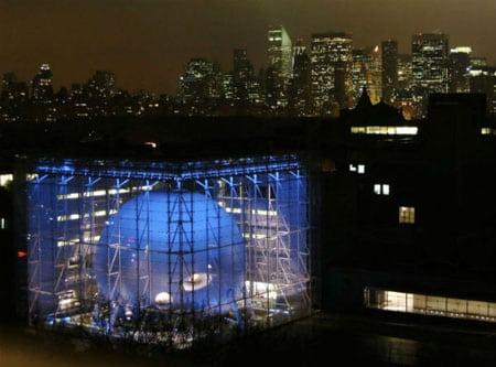 Нью-Йоркский Hayden Planetarium