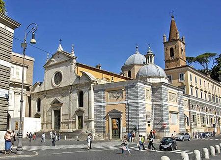церковь имени Святой Марии дель Пополо