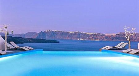 Отдых в уникальных отелях Греции
