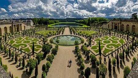 Ландшафт Версальского дворца