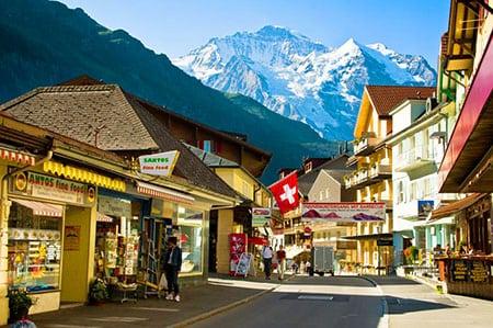 Деревушки Швейцарии