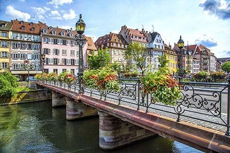Франция: город Страсбург