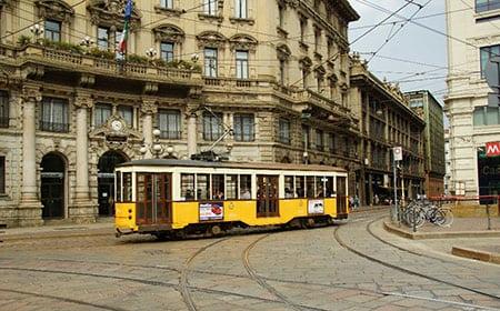 Городской железнодорожный транспорт Милана