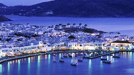 Греция, Миконос: бары и ночные клубы острова
