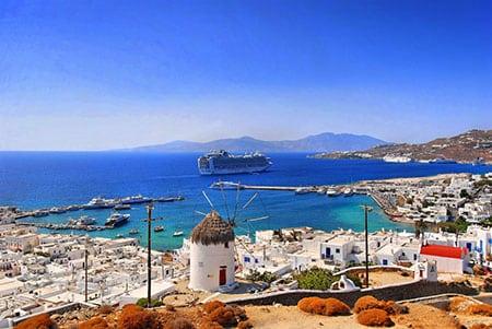 Греция, Миконос: где остановиться на острове