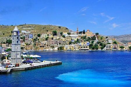 Греция: остров Сими