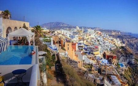 Греция, Ойя: рестораны города