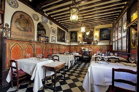 Испания, Мадрид: рестораны категории люкс