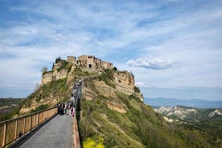 Итальянские города на холмах