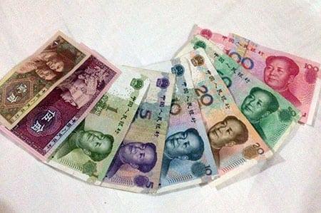 Как разобраться с китайскими деньгами