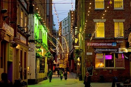 Ливерпуль: места для отдыха и развлечений