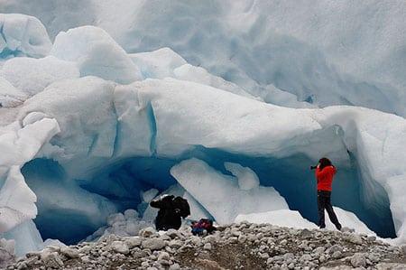 Норвегия: ледник Юстедальсбреен