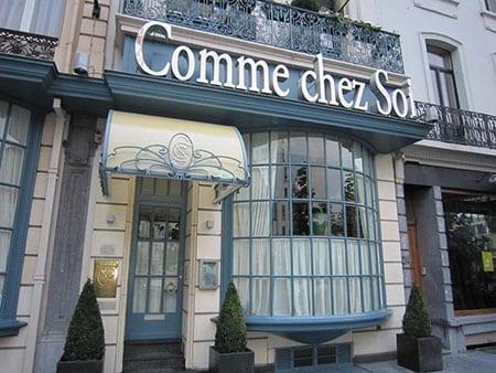 Рестораны международной кухни в Бельгии