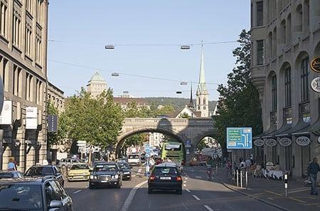 Швейцария, Цюрих: как добраться