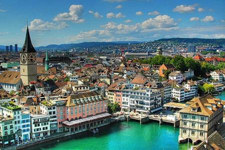Швейцария, Женева: средства связи и пути сообщения
