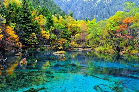 Пять красивейших озер нашей планеты