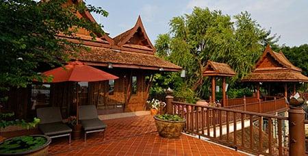 Отели Тайланда: королевская вилла Chakrabongse Villas
