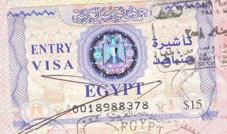 Получение визы в Египет