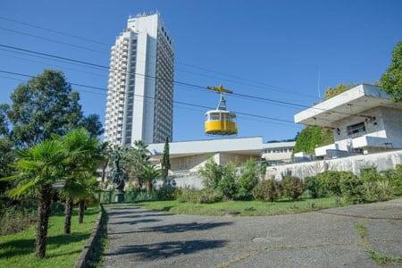 Строительство гостиниц и пансионатов в Сочи