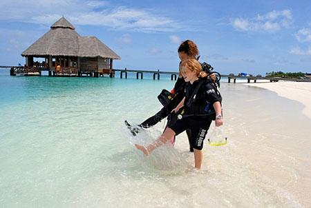 Мальдивы – мир подводной красоты