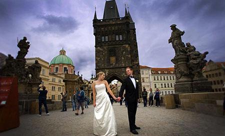 Злата Прага – город влюбленных