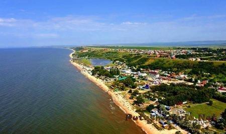 Станица Голубицкая Азовского моря