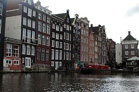 Амстердам, средневековый островок Европы